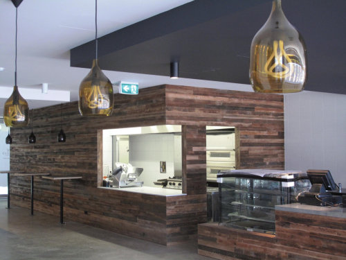 ZaZa Cafe, Richmond.  Image courtesy Acemorning Design & Construction.
